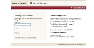 login to capella iguide