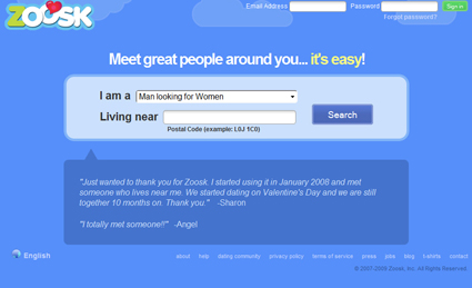 zoosk dating login Learn how to use zoosk with techboomers  zoosk is a dating website with various ways of finding matches you can search based on various criteria,.