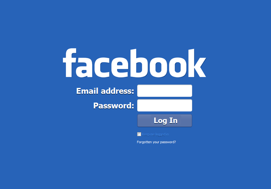 Facebook Login - onLogins.com
